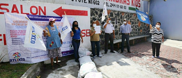 Atlixco inicia de obras de infraestructura cercanas a los 8 mdp