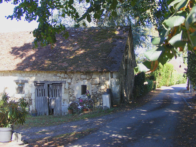 One end of a longere. Indre et Loire. France. Photo by Loire Valley Time Travel.