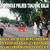 Satlantas Tanjungbalai Bersama Team Percepat Penanganan Covid-19, Cek Suhu Tubuh Pengendar Yang Masuk ke Kota Tanjungbalai