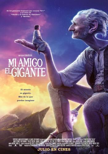 Mi amigo el gigante (2016) [BRrip 1080p] [Latino] [Fantástico]