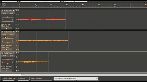 دورة تعلم وإحتراف Audacity ترتيب Audio Track وشرح إعداداتها