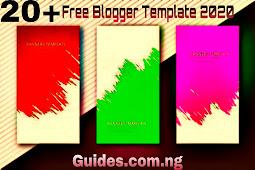 20+ Free Blogger Templates 2020
