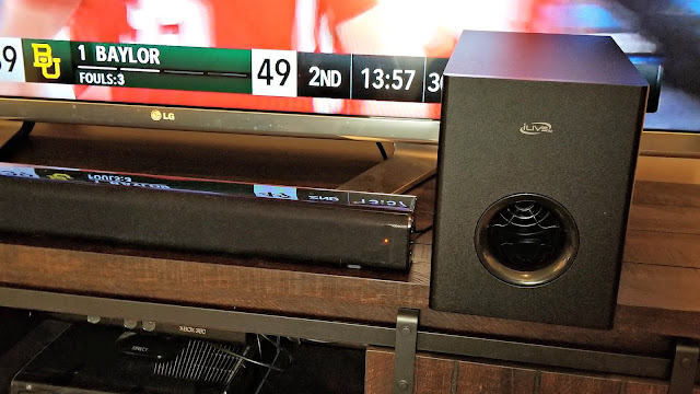 37 inch sound bar with wireless subwoofer