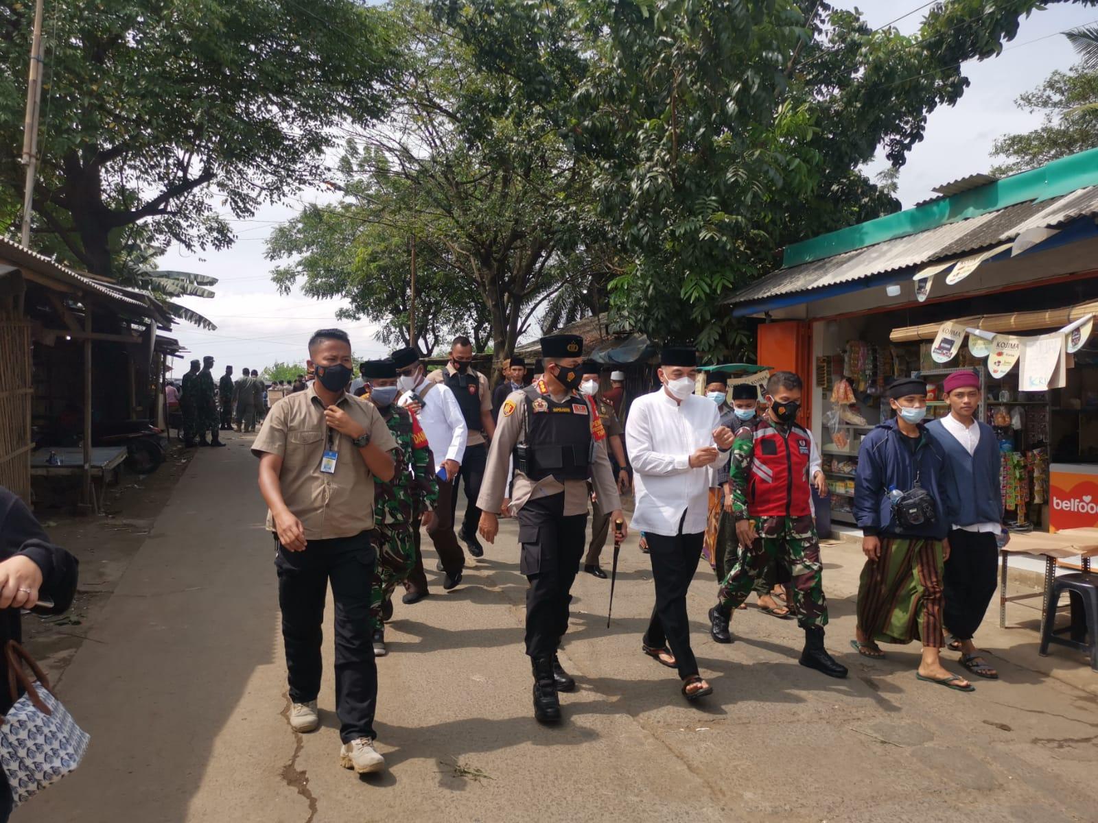 Abuya Uci Wafat, Kapolresta Tangerang Imbau Masyarakat Patuh Prokes, Berdoa dari Rumah