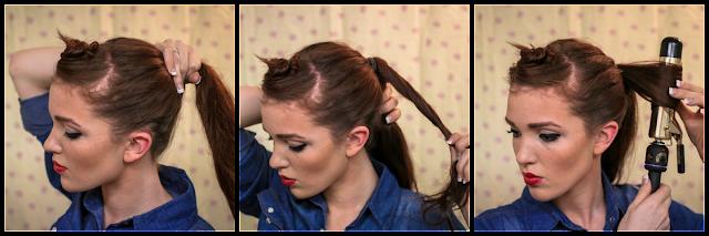 Stupendous The Freckled Fox Sweetheart Hair Week Tutorial 3 Rockabilly Rosie Short Hairstyles For Black Women Fulllsitofus