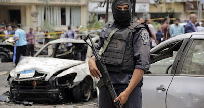 EGYPT: 8 policemen killed, 4 others injured in checkpoint attack