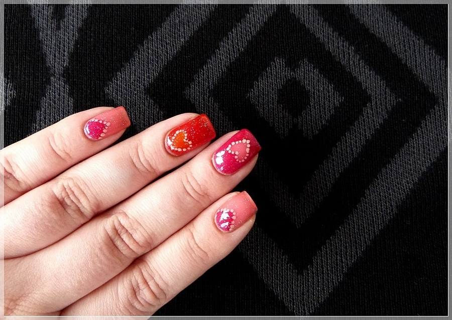 essence valentine nail art