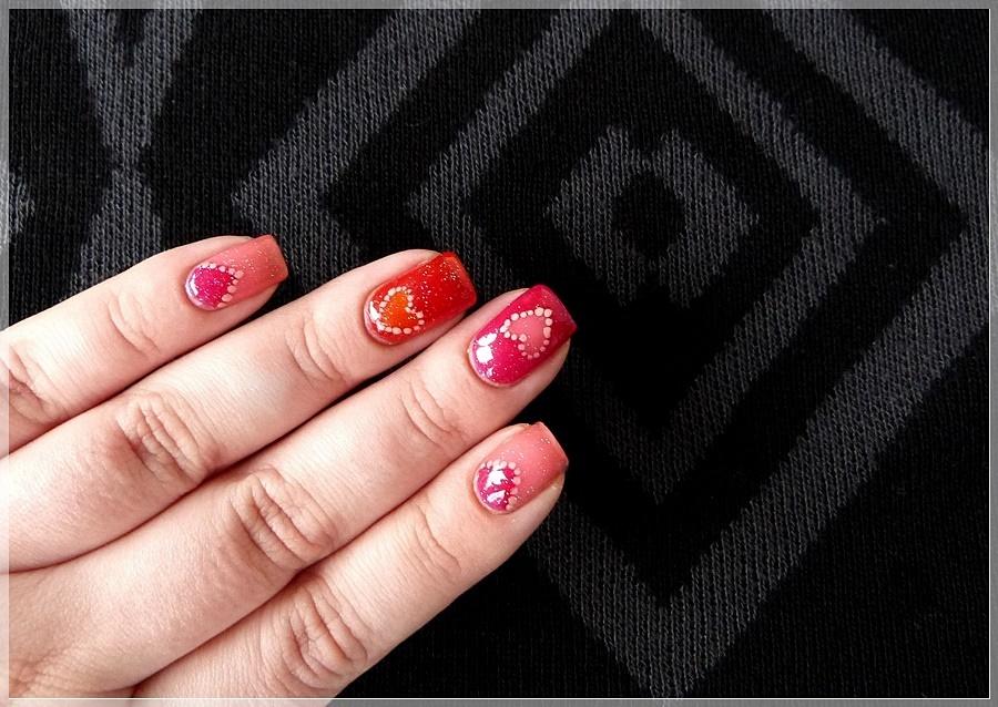 essence valentine nail art
