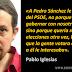 """Pablo Iglesias: """"El PSOE no quería gobernar con nosotros"""""""