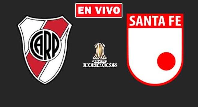 EN VIVO   River Plate vs. Santa Fe de Colombia, jornada 5 del Grupo D Copa Libertadores ¿Dónde ver el partido online gratis en internet?