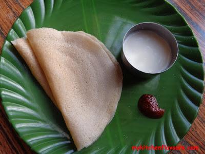 Foxtail millet - Navane Dosa