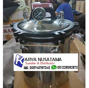 Jual Autoclave Stainless Steel 18L Pakai Timer di Kalimantan