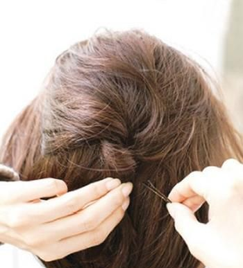 cara+mengikat+rambut+pendek+3