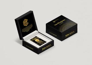 box kemasan emas