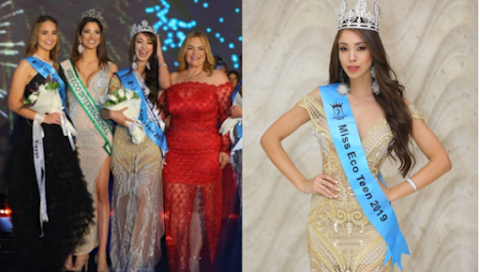 Miss Eco Teen 2019 es Brazil