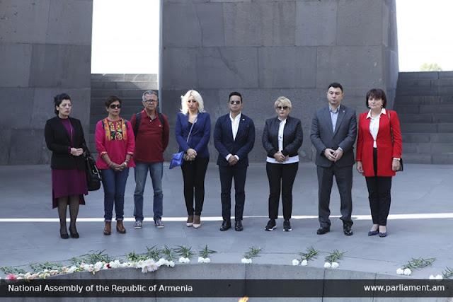 Diputados mexicanos rinden homenaje a víctimas del genocidio armenio