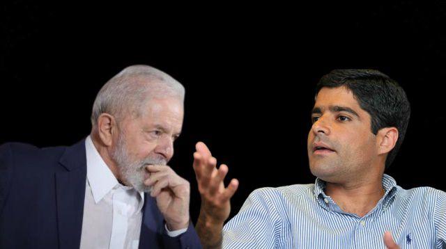 Influência Lula estabiliza pré-candidatura de ACM Neto