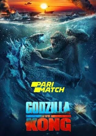 Godzilla vs Kong 2021 HDCAM 800Mb Hindi Dual Audio 720p Watch Online Full Movie Download bolly4u