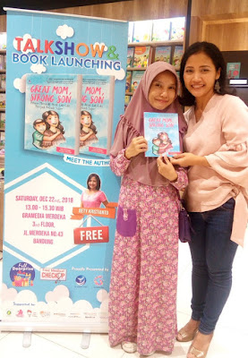 penulis buku parenting great mom, strong son yaitu ibu bety kristianto
