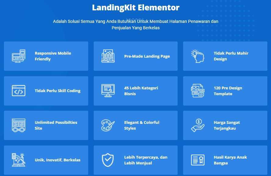 Template Website Untuk Elementor WordPress PREMIUM BERKUALITAS