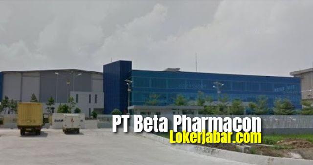 Lowongan Kerja PT. Beta Pharmacon Karawang