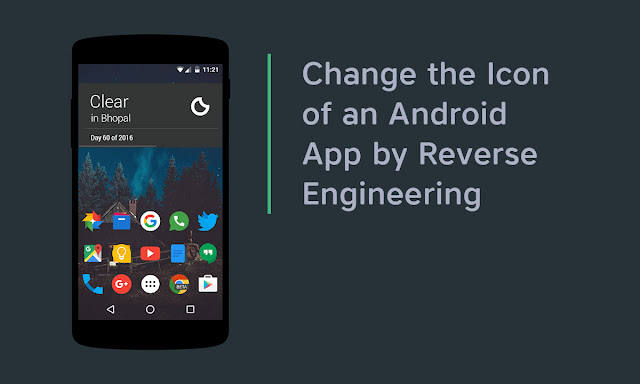 Change the Icon of an Android App by Modding