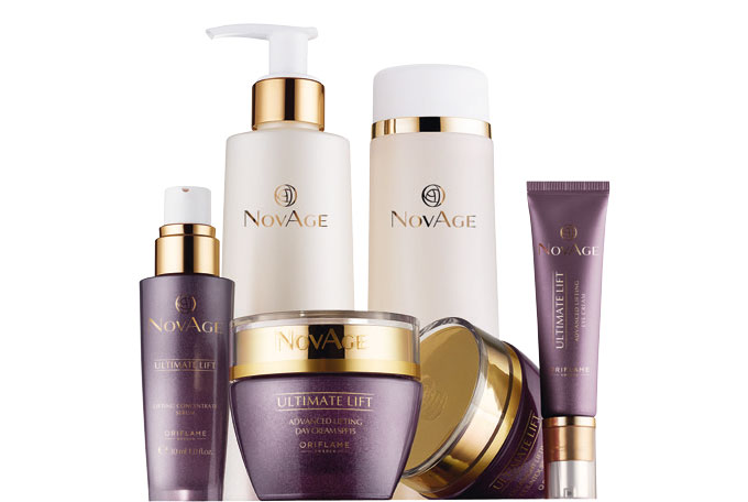 Ultimate Lift NovAge Oriflame - Conjunto de Cuidados do Rosto