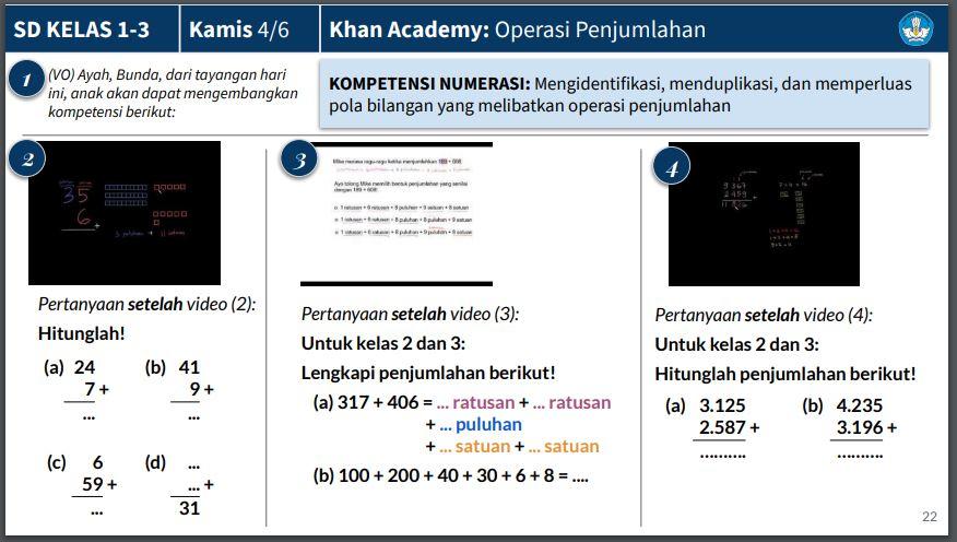 Soal dan Jawaban TVRI 11 Juni 2020 untuk SD Kelas 1-3