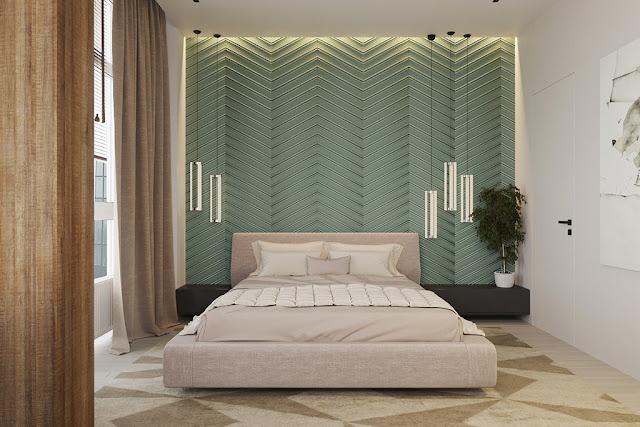 Những mẫu thiết kế nội thất phòng ngủ chung cư siêu đẹp P2