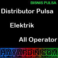 Distributor Pulsa Elektrik All Operator