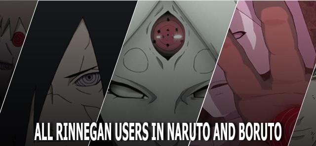 Mata Rinnegan di Naruto