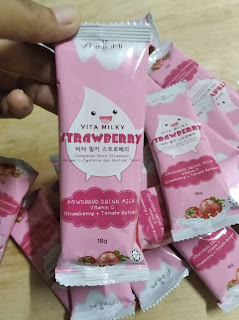 Shinjumi Vita Milky Strawberry