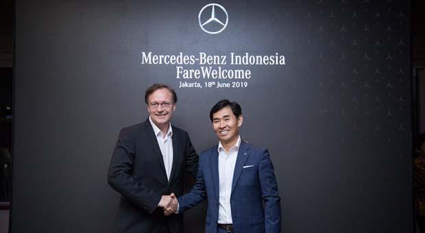Choi Duk Jun Jadi Pimpinan Mercedes-Benz Indonesia