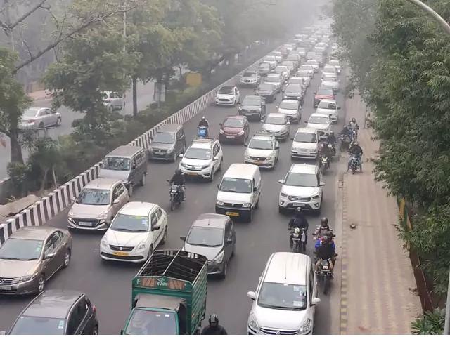 CAA Protest, traffic police, demonstration on citizenship law, delhi, gurgaon