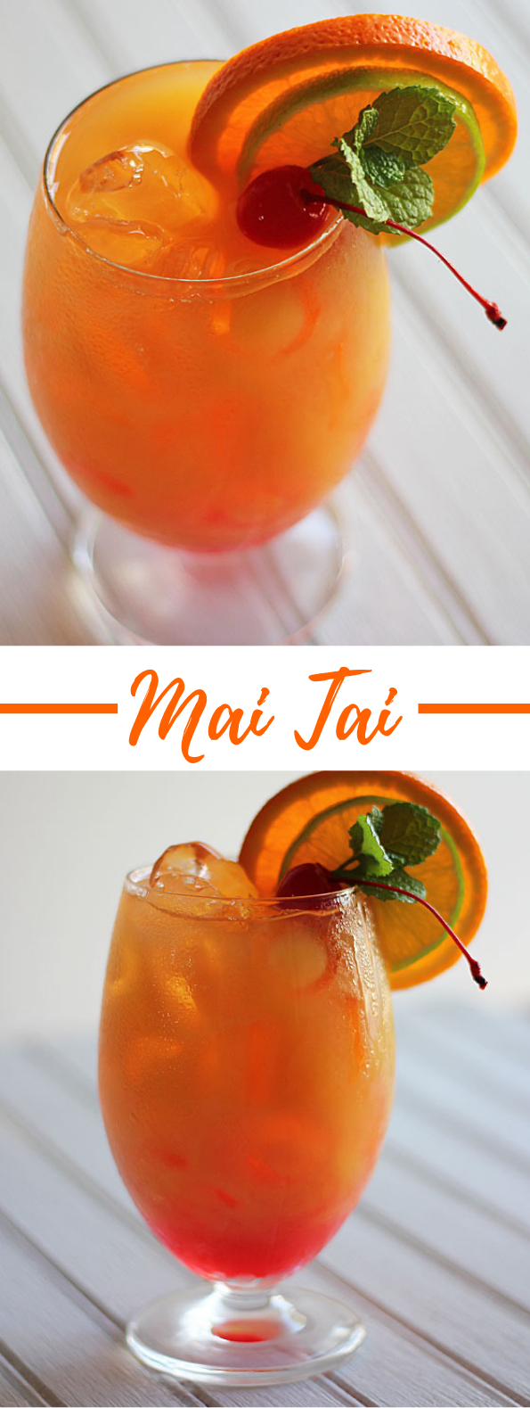 MAI TAI #drink #cocktail