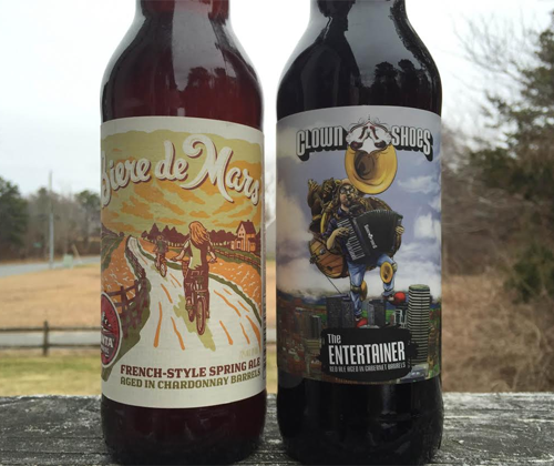 Biere de Mars French-Style Spring Ale & Clown Shoes The Entertainer