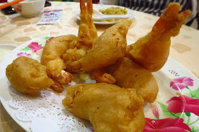 Lao You Ji, fried prawns