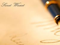 Contoh Surat Wasiat Harta Pusaka