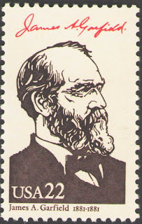US. 2218b. 22c. James A. Garfield