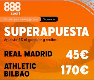 888sport superapuesta Real Madrid vs Athletic 14 enero 2021