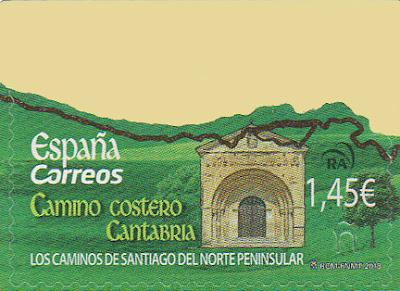 Sello Cantabria, Camino de Santiago del Norte