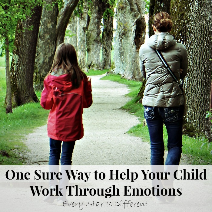 One Sure Way to Help Your Child Work Through Emotions