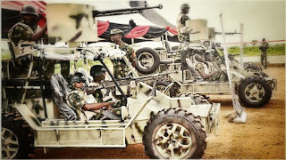 Picture of nigerian army made infantry patrol vehicle (IPV)