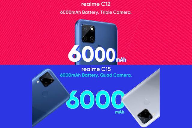Realme c12 quad camera setup