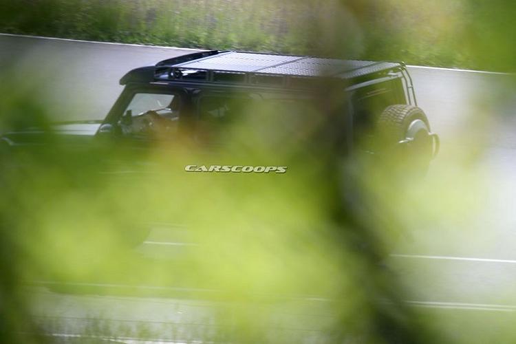 Mercedes-Benz G550 4×4² 2021 mới sẽ được trang bị những gì?