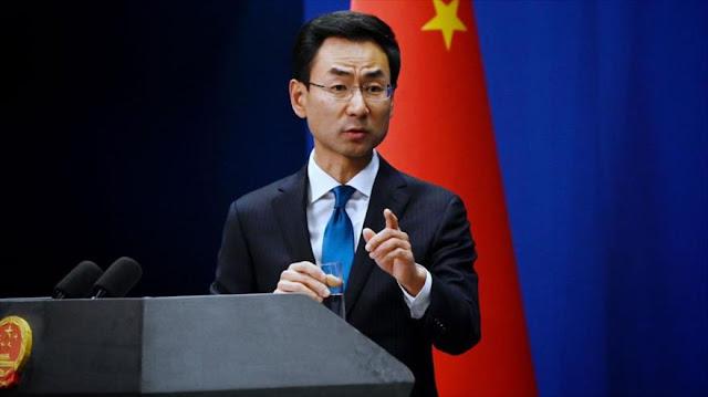 China: EEUU debe levantar 'inmorales' sanciones a Irán por COVID-19