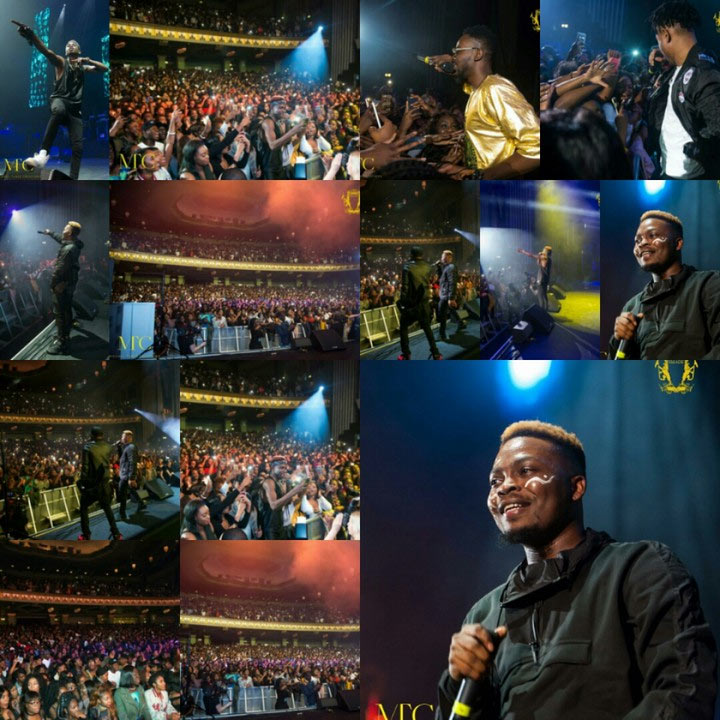 Photos: Olamide, Lil Kesh, others, thrill UK fans in YBNL Concert