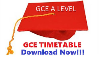 Download GCE Timetable