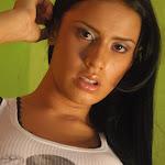 Andrea Rincon, Selena Spice Galeria 32 : Blusa Blanca y Cachetero Negro Foto 47