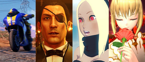 new-games-moto-racer-4-yakuza-0-gravity-rush-2-fate-extella-umbral-star